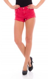 Rote Cargoshorts - DR481-4